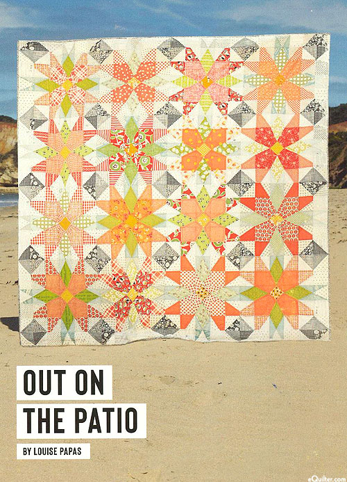 Out On The Patio - Quilt Pattern by Louise Papas