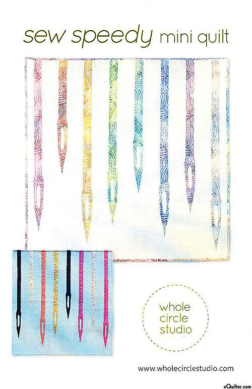 Sew Speedy - Mini Quilt Pattern by Whole Circle Studio