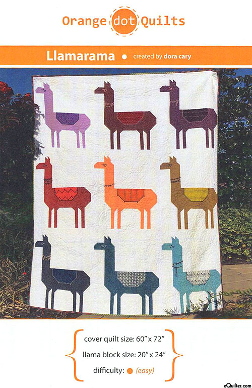 Llamarama - Quilt Pattern by Dora Cary