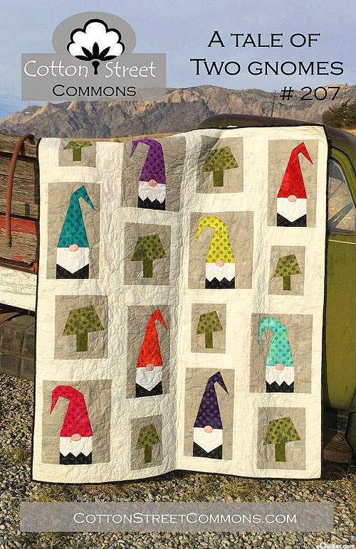 A Tale of Two Gnomes - Pattern by Cotton Street Commons
