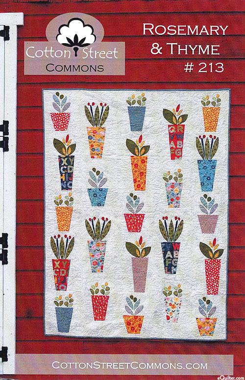 Rosemary & Thyme - Applique Pattern by Cotton Street Commons