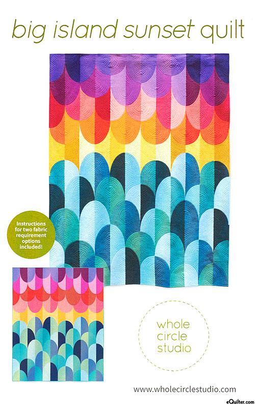 Big Island Sunset - Quilt Pattern by Whole Circle Studio