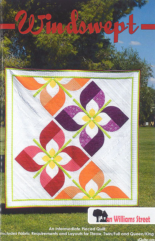 Windswept - Quilt Pattern by On Williams Street