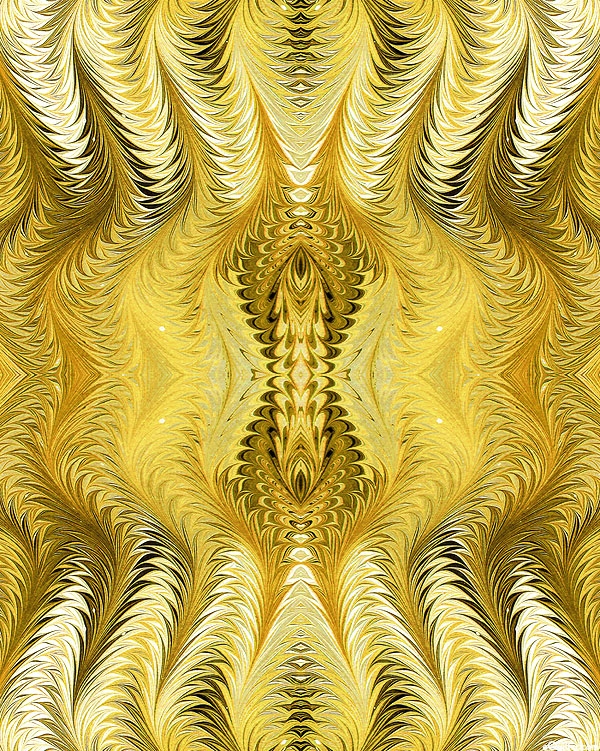 Marble Essence - Helix Spin - Maize Yellow - DIGITAL PRINT