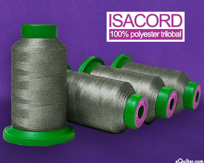 Gray - Isacord Polyester Embroidery Thread - Shale Gray