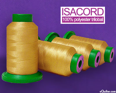 Isacord Polyester Embroidery Thread - Apple Cider