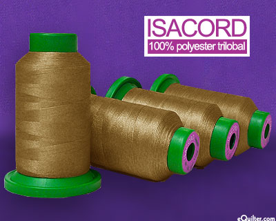 Isacord Polyester Embroidery Thread - 1094 yd - Golden Grain