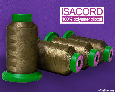 Isacord Polyester Embroidery Thread - Pine Bark