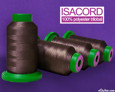 Isacord Polyester Embroidery Thread - 1094 yd - Mahogany