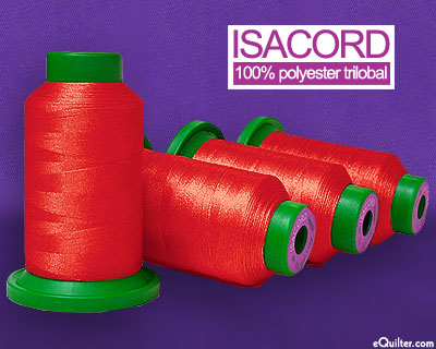 Isacord Polyester Embroidery Thread - Wild Fire