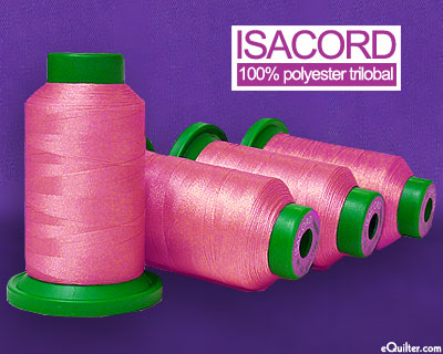 Pink - Isacord Polyester Embroidery Thread - Heather Pink