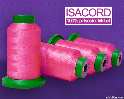 Pink - Isacord Polyester Embroidery Thread - Pretty in Pink