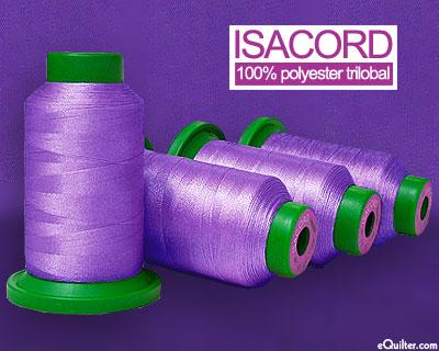 Purple - Isacord Polyester Embroidery Thread - Wild Iris