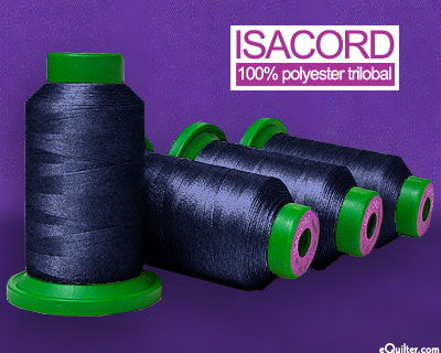 Blue - Isacord Polyester Embroidery Thread - Navy