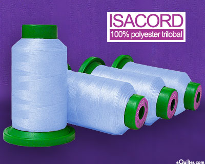 Blue - Isacord Polyester Embroidery Thread - Ice Cap