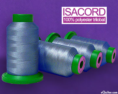 Blue - Isacord Polyester Embroidery Thread - Copenhagen