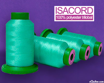 Turquoise - Isacord Polyester Embroidery Thread - Turquoise