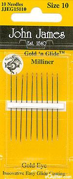 John James Milliner Needles - Size 10