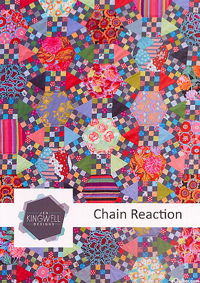 Chain Reaction - Quilt Pattern by Jen Kingwell Designs