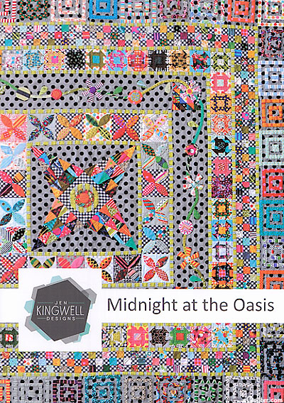 Midnight at the Oasis - Quilt Pattern by Jen Kingwell Designs