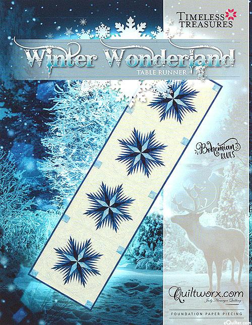 Winter Wonderland - Paper Piecing Pattern by Judy Niemeyer