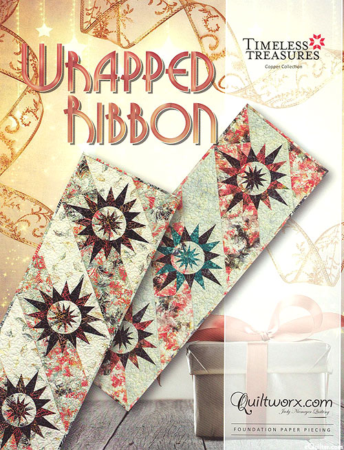 Wrapped Ribbon - Paper Piecing Pattern by Judy Niemeyer