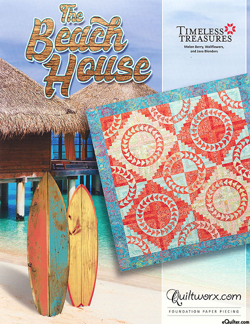 The Beach House - Paper Piecing Pattern by Judy Niemeyer