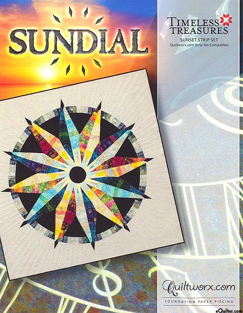 Sundial - Paper Piecing Pattern by Judy Niemeyer