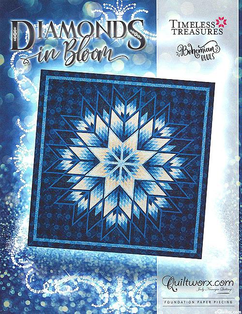 Diamonds in Bloom - Paper Piecing Pattern by Judy Niemeyer