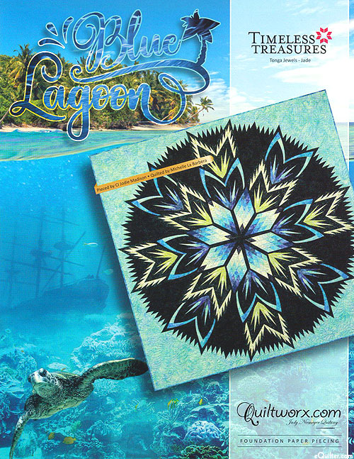 Blue Lagoon - Paper Piecing Pattern by Judy Niemeyer