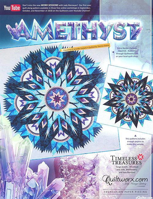 Amethyst - Paper Piecing Pattern by Judy Niemeyer