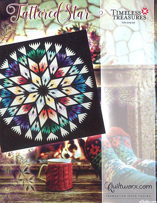 Tattered Star - Paper Piecing Pattern by Judy Niemeyer