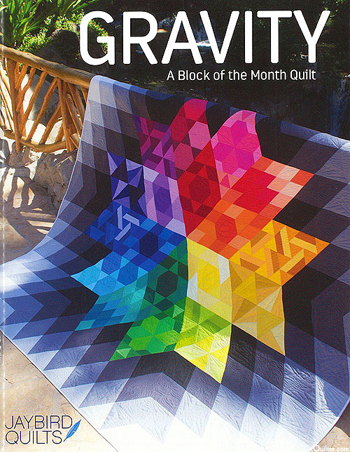 Gravity - Quilt Pattern by Jaybird Quilts