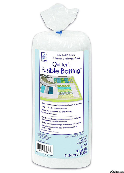 Fusible Poly Batting - June Tailor - Craft Size