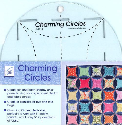 Charming Circles Ruler by June Tailor