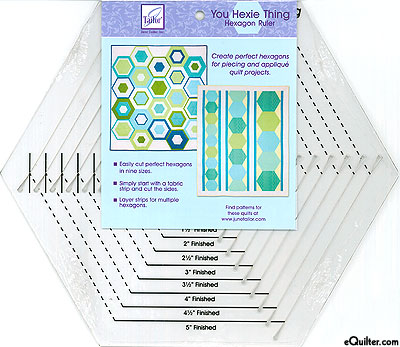Hexagon Ruler by June Tailor - You Hexie Thing
