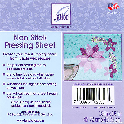 June Tailor Non-Stick Pressing Sheet