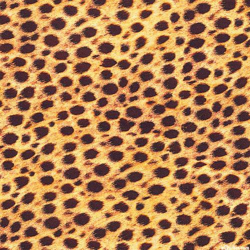 Animal Kingdom - Cheetah Spots Mini - Auric Orange - DIGITAL