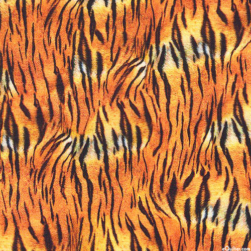 Animal Kingdom - Tiger Stripes Mini - Orange - DIGITAL PRINT