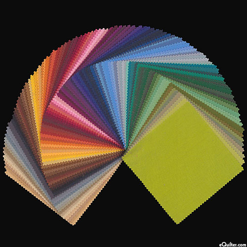 "Kona Cotton Palette 101 - Dusty - 5"" Charm Pack"