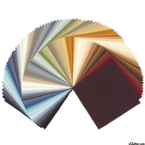 "Kona Cotton Colorways - Neutral - 5"" Charm Pack"
