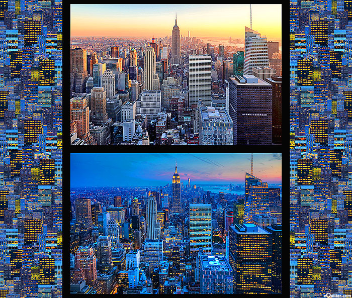 "Cityscapes - NYC - Multi - 36"" x 44"" PANEL - DIGITAL PRINT"
