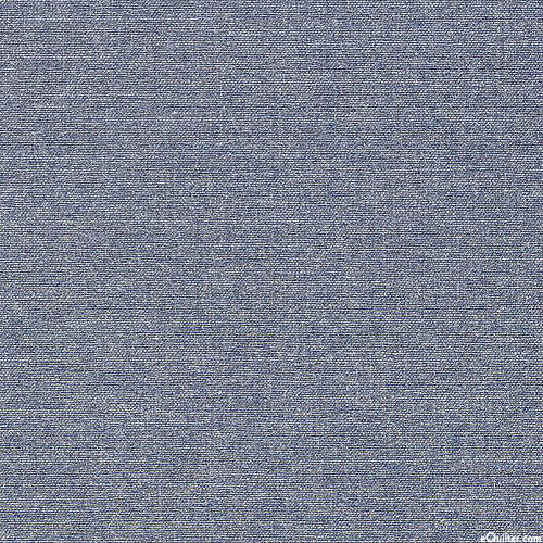 """Gilded - Shimmering Chambray - Stonewash Blue/Silver- 57"""" WIDE"""