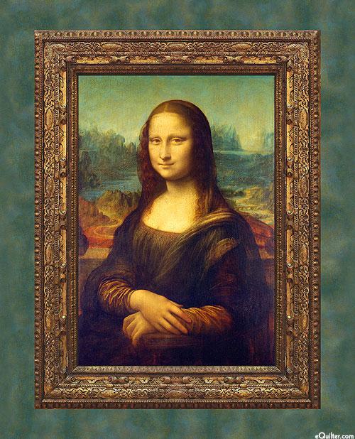 "Leonardo Da Vinci - Mona Lisa - 36"" x 44"" PANEL"