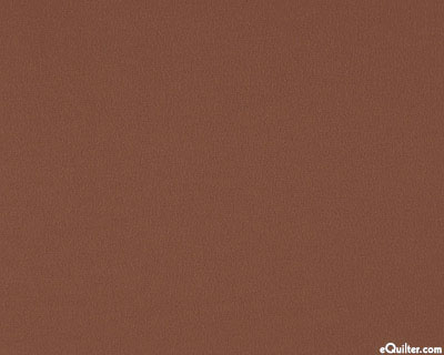 "Brown - Solid Cotton Flannel - Dk Chocolate - 42"" FLANNEL"