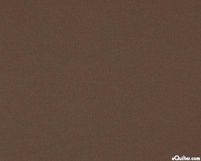 "Brown - Solid Cotton Flannel - Espresso - 42"" FLANNEL"