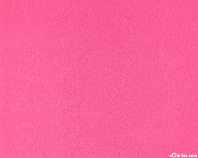 """Pink - Solid Cotton Flannel - Hot Pink - 42"""" FLANNEL"""