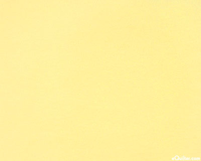 """Yellow - Solid Cotton Flannel - Butter Yellow - 42"""" FLANNEL"""