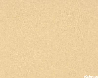 "Cream - Solid Cotton Flannel - Sand - 42"" FLANNEL"
