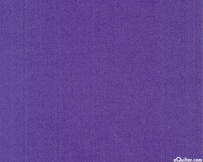 "Purple - Solid Cotton Flannel - Iris - 42"" FLANNEL"